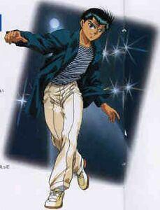 Yu-yu-hakusho---yusuke-urameshi..