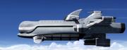 Dolphin in flight