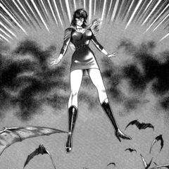 Lan kick starting Jun's evolution into Devilman Lady