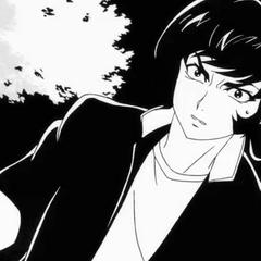 Akira at the start of the OVA