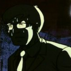 a scientist who gets killed by rockfel, i think his name was john or james
