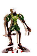 Series 1 green marionette