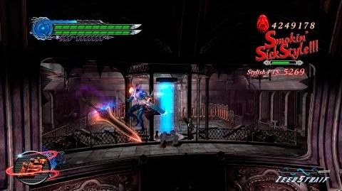 "Devil May Cry 4 Special Edition - Vergil vs Agnus (Mission 6) DMD ""TRY1"""