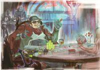 Bayonetta Art book - Enzo & Dante - Poker