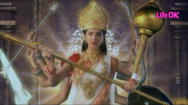 File:Eight-Armed Ferocious and Violent Goddess Shakti.png