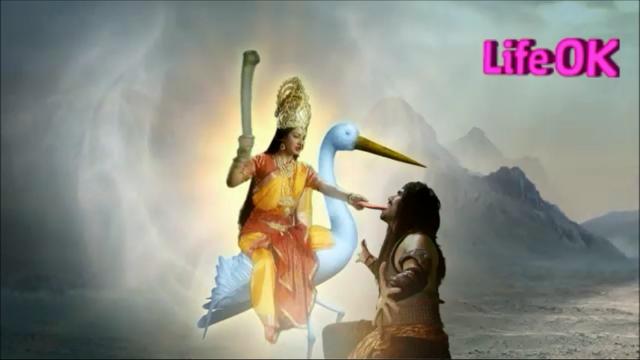 File:Bagalamukhi Devi Seizes The Tongue of The Demon.png
