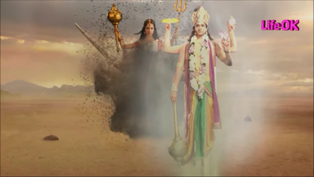 File:Bhramari Devi and Lord Vishnu.png