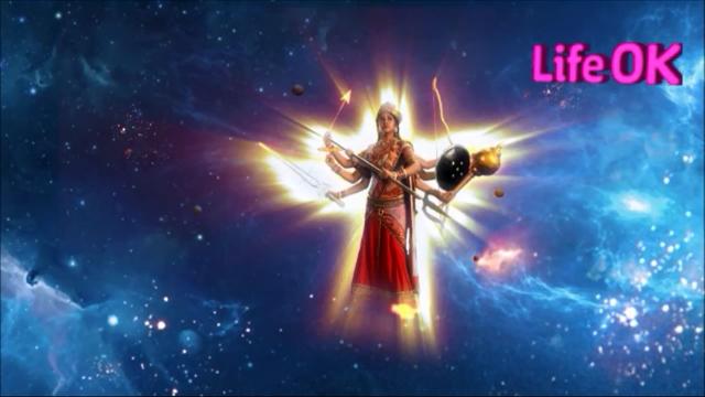 File:Eight-Armed Goddess Adishakti Destroys The Cosmos.png