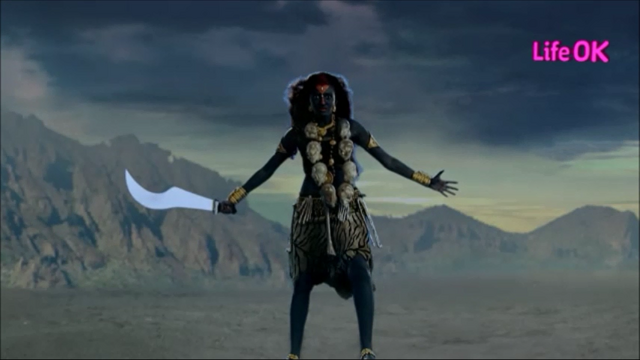 File:Goddess Kali Armed With Her Scimitar.png