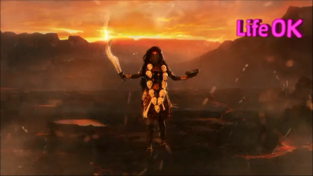 File:Goddess Kali Appears in The Battlefield.png