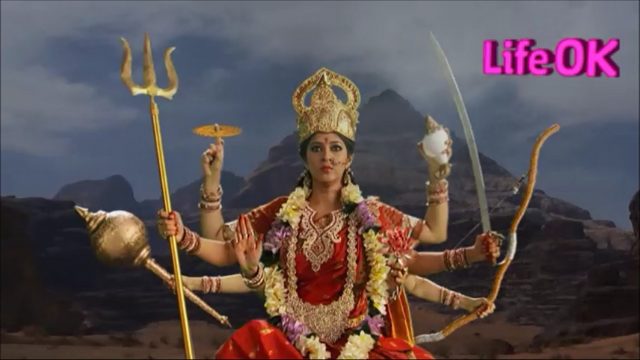 File:Eight-Armed Goddess Durga Goes To The Battlefield.png