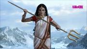 Parvati Holding a Trident