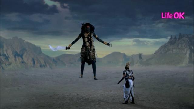File:Kali Confronts Shankhchud in Massive Form.png