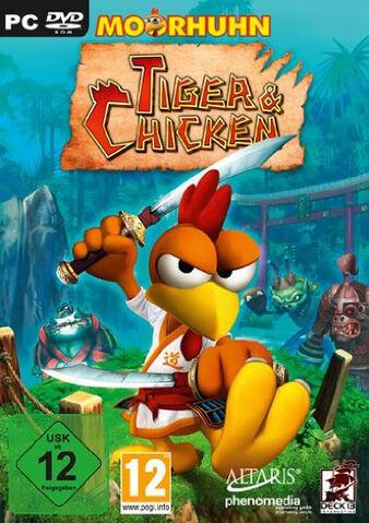 Datei:Moorhuhn Tiger & Chicken.jpg