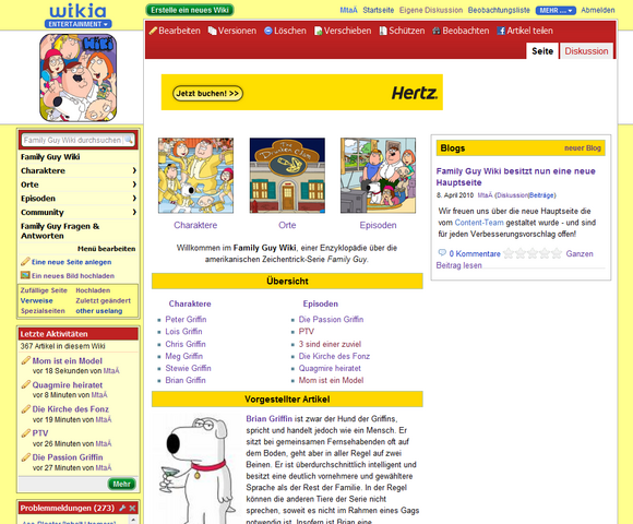 Datei:Family Guy Wiki, Mainpage.png