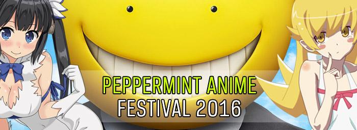 Peppermint Anime Festival Banner