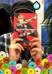Bosso DVD Samurai Flamenco