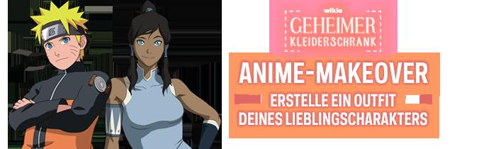 Wikias Geheimer Kleiderschrank: Anime-Makeover