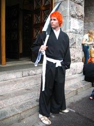 Elffi - First cosplay - Kurosaki Ichigo from Bleach