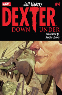 Dexter Down Under 4 cover