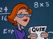 DeeDees Teacher giving pop quiz