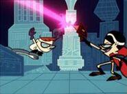 Dexter vs Mandark