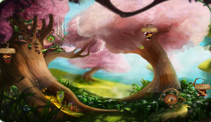 Springtime Orchard
