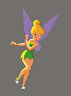 Tink-disney fairy book