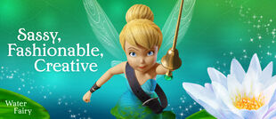 Tinker Bell: Water fairy (Sassy,Fashionable and Creative)