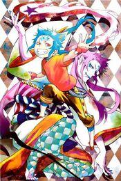 Timothy and tsukikami color