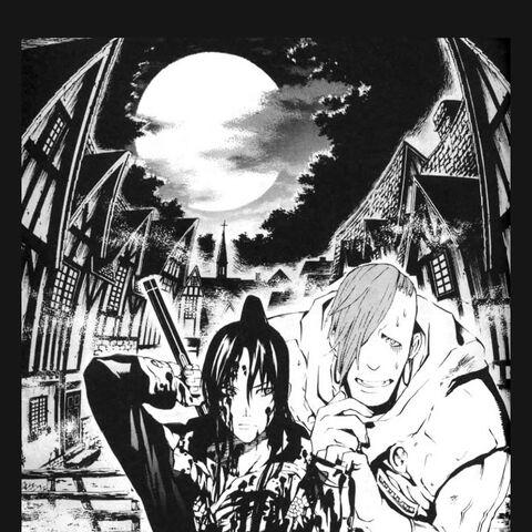 Kanda and Kozu arrive at the Dankern village.