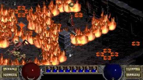 Diablo 1 Hellfire spells Ring of Fire (by Blessed)