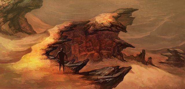 File:Desert cliff.jpg