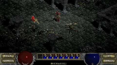 Diablo 1 spells - Resurrect (by Decimius)