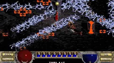 Diablo 1 Hellfire spells Lightning Wall (by Blessed)