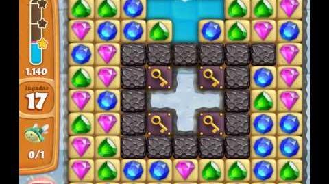 Diamond digger saga - level 165 - 3 stars no booster used