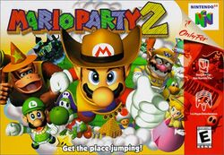Mario Party 2 Box Art
