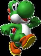 Yoshi Artwork - Mario Party 7
