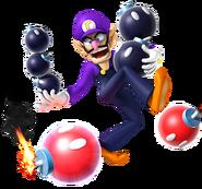 270px-Waluigi & Bob-ombs, Mario Party 9