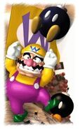 Wario with Bob-Ombs