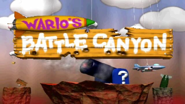 File:Wario's Battle Canyon Logo.JPG
