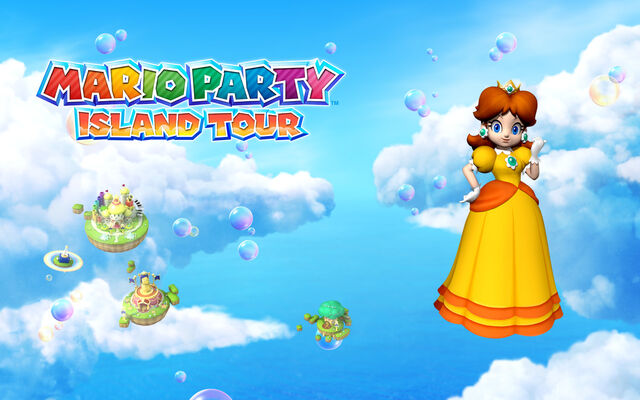 File:Mario Party Island Tour 1280x800 Daisy.jpg