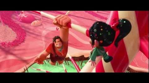"""Wreck-It Ralph """"Ralph Meets Vanellope"""" Clip"""