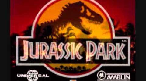 Jurassic Park Snes - Theme Elevator Enhanced