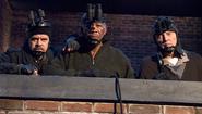 DHS- William H. Macy, Morgan Freeman and Christopher Walken in The Maiden Heist