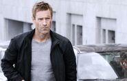 DHS- Aaron Eckhart as Ben Logan in 2012 action film ERASED