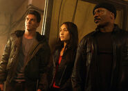DHS- Maggie Q and Ving Rhames in MI3