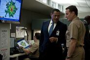 DHS- Laurence Fishburne and Bryan Cranston in Contagion (2011)