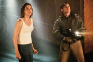 DHS- Famke Janssen and Treat Williams in Deep Rising