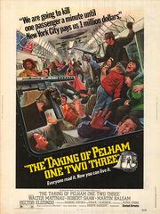 DHS- Taking of Pelham One Two Three original version poster